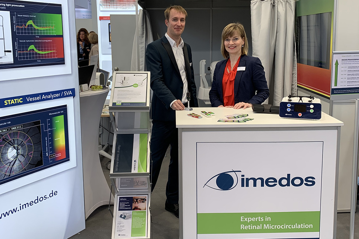 Imedos exhibition booth